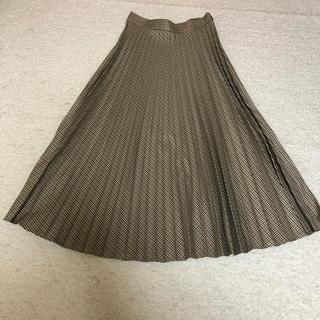 ZARA - ザラ新品ロングプリーツスカート
