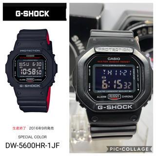 G-SHOCK - CASIO G-SHOCK スピードモデル 人気ブラック&レッドシリーズ ♪