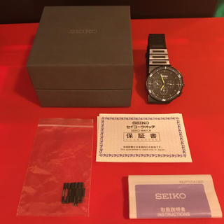 セイコー(SEIKO)のSEIKO スピリット ジウジアーロデザイン SCED017 ブラック/イエロー(腕時計(アナログ))