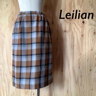 レリアン(leilian)のLeilian  レリアン  チェックタイトスカート 11(ひざ丈スカート)