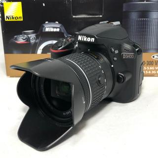 Nikon - Nikon D3400 AF-P 18-55レンズKIT 3102ショット美品