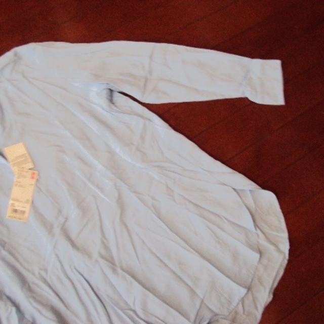 UNIQLO(ユニクロ)のユニクロの大きなシャツ レディースのトップス(シャツ/ブラウス(長袖/七分))の商品写真