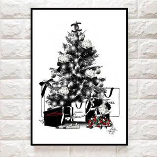海外ポスター クリスマスver(ウェルカムボード)