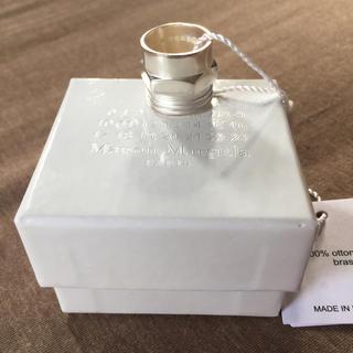マルタンマルジェラ(Maison Martin Margiela)のM新品60%off メゾンマルジェラ ボルトナット リング シルバー(リング(指輪))