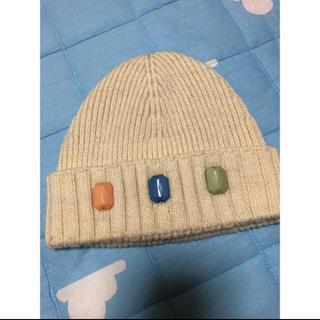 リリーブラウン(Lily Brown)のニット帽(ニット帽/ビーニー)