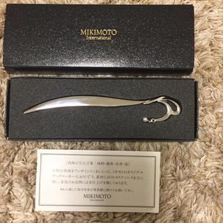 ミキモト(MIKIMOTO)のミキモトのオリジナルブックマーカー(ペン/マーカー)