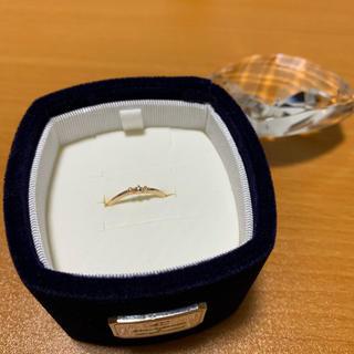 ヨンドシー(4℃)の4℃ K10 ピンクゴールドリング 6号(リング(指輪))