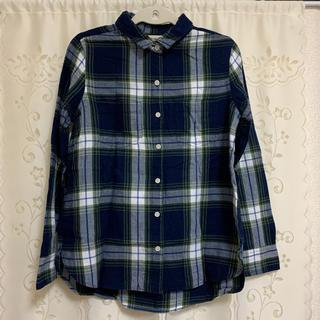 オールドネイビー(Old Navy)の【ネイビー系 チェックシャツ】(シャツ/ブラウス(長袖/七分))