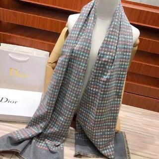 クリスチャンディオール(Christian Dior)のDior デイオール ウール  スカーフ  大きサイズ  (バンダナ/スカーフ)