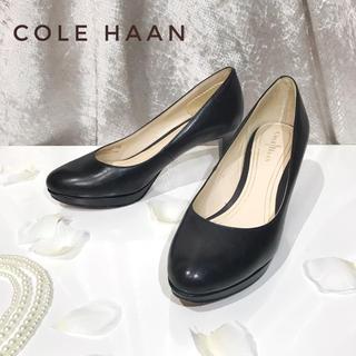 コールハーン(Cole Haan)の【COLE HAAN】NIKE AIR ナイキ ヒール パンプス レディース 黒(ハイヒール/パンプス)