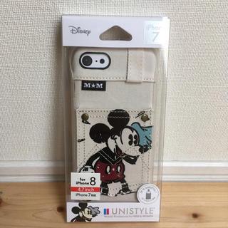 Disney - iPhone 7 /  8 ミッキー  ハードケース / ハードカバー