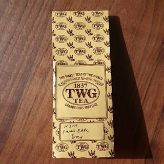 *即購入OK* TWG フレンチアールグレイ 50g=ティーカップ約20杯分