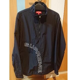 Supreme - Supreme Corner Arc Half Zip Pullover 黒 M
