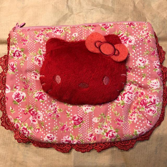 PINK HOUSE(ピンクハウス)のピンクハウスキティコラボポーチ レディースのファッション小物(ポーチ)の商品写真