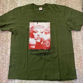 シュプリーム(Supreme)のSupreme Madonna Tee オリーブXLサイズ(Tシャツ/カットソー(半袖/袖なし))