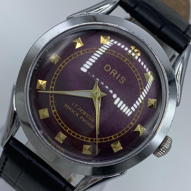 ORIS - 激レア美品◆ORIS/オリス/1970's/ヴィンテージ腕時計/手巻きウォッチの通販