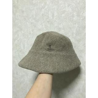 Vivienne Westwood - ヴィヴィアンウエストウッド 可愛い 帽子 ウール素材 ベージュ