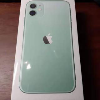 iPhone - 新品未開封 iPhone11 グリーン 128GB simフリー