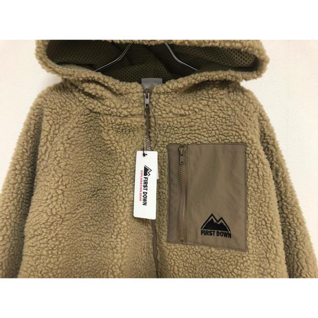 patagonia(パタゴニア)の◆ FIRST DOWN ファーストダウン ボア ジャケット L ◆ レディースのジャケット/アウター(ブルゾン)の商品写真