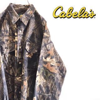 ロスコ(ROTHCO)の古着 Cabela's カベラス リアルツリー シャツ 厚手 迷彩 カモフラ(シャツ)