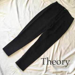 theory - Theory クロップド スラウチー パンツ XS