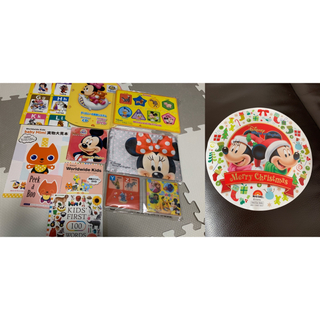 Disney - 【新品未使用】ディズニー英語システム・ワールドワイドキッズ 教材&非売品ポーチ