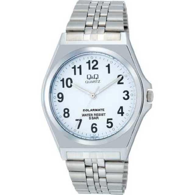 ホワイト[シチズン キューアンドキュー]CITIZEN Q&Q 腕時計 SOLAの通販