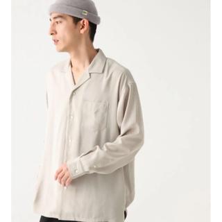 RAGEBLUE - RAGEBLUE オープンカラーシャツ L