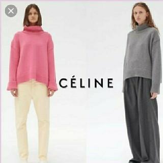 セリーヌ(celine)のセリーヌ 美品 限定色 チャンキーニット(ニット/セーター)
