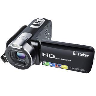 【入手★困難】デジタルビデオカメラ2400万画素 16倍ズーム ブラック