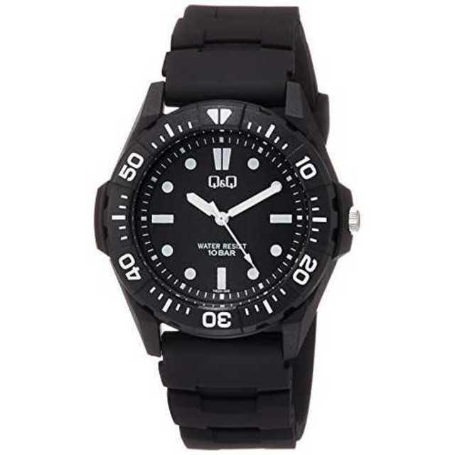 ブラック[シチズン キューアンドキュー]CITIZEN Q&Q 腕時計 アナログの通販