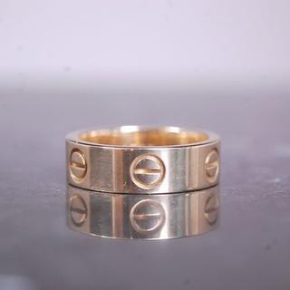 カルティエ(Cartier)の東京制服様専用CARTIER カルティエ ラブリング 51号 K18 YG 指輪(リング(指輪))