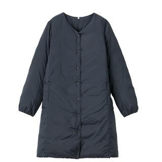 ムジルシリョウヒン(MUJI (無印良品))の無印良品ポケッタブルコート Lサイズ(ダウンコート)