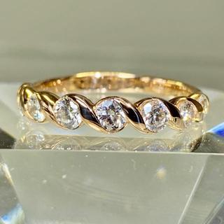 エタニティリング ダイヤモンド1カラット  k18 ダイヤモンドリング(リング(指輪))