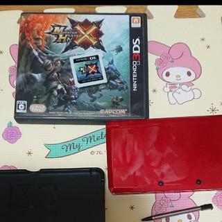 ニンテンドー3DS - 3DS+モンハン 箱、充電器付き