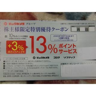 ビックカメラ コジマ ソフマップ ポイントサービス クーポン(ショッピング)