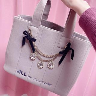 JILL by JILLSTUART - ジルバイジルスチュアート ジュエルリボントート グレー❤︎❤︎