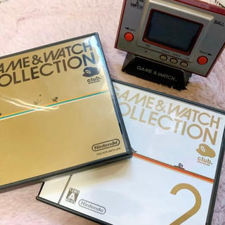 ニンテンドウ(任天堂)の【希少品】GAME &WATCH COLLECTION セット(携帯用ゲームソフト)