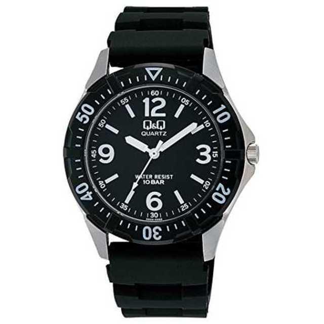 文字盤色-ブラック[シチズン キューアンドキュー]CITIZEN Q&Q 腕時計の通販