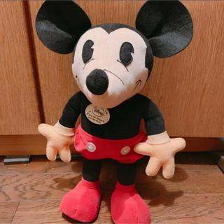 ミッキーマウス - レトロミッキー ぬいぐるみ ディズニー110周年記念展限定