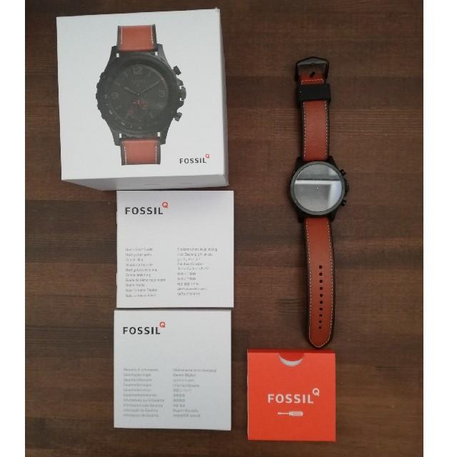 FOSSIL - FOSSIL Q NATE ハイブリッドスマートウォッチ フォッシルの通販