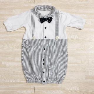 Nishiki Baby - Tino Tino 蝶ネクタイつき2wayオール