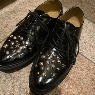 ジーナシス(JEANASIS)のjeanasis♡スタッズ オックスフォード(ローファー/革靴)