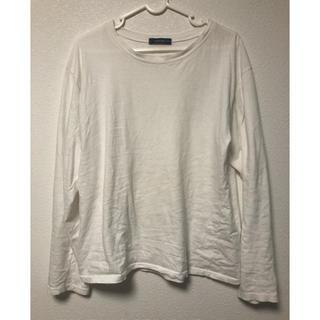 ジーユー(GU)の白T(Tシャツ(長袖/七分))