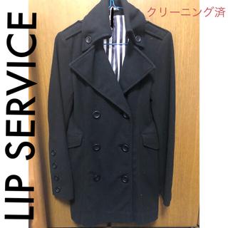 リップサービス(LIP SERVICE)のLIP SERVICE コート(ピーコート)