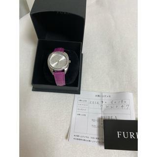 フルラ(Furla)のFURLA ラインストーンウォッチ(腕時計)