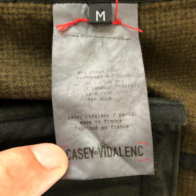 Paul Harnden(ポールハーデン)のトンテン様専用casey vidalenc ウールコットンジャケット メンズのジャケット/アウター(テーラードジャケット)の商品写真