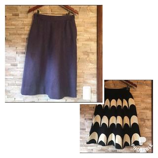 ジバンシィ(GIVENCHY)のジバンシイ ツイードスカート(ひざ丈スカート)
