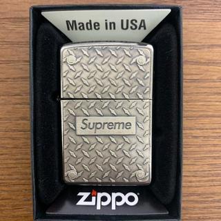 Supreme - Diamond Plate Zippo