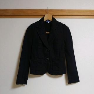バーバリーブルーレーベル(BURBERRY BLUE LABEL)の美品 バーバリーブルーレーベル★ジャケット38 黒(テーラードジャケット)